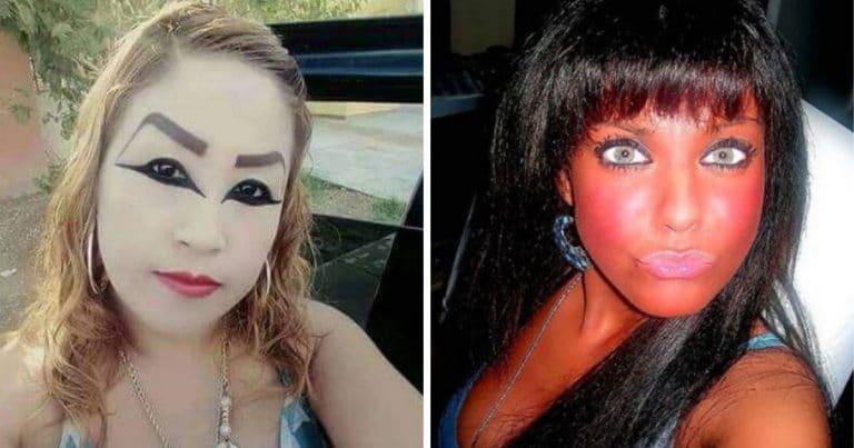 Des maquillages ratés