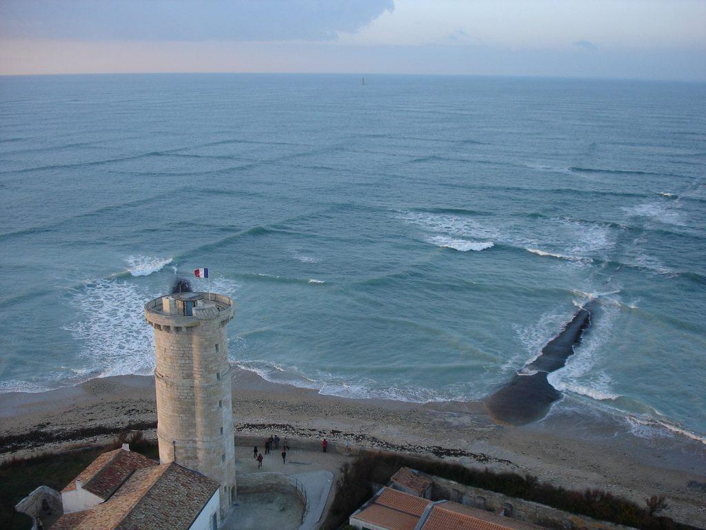 vagues carrées ou mer croisée