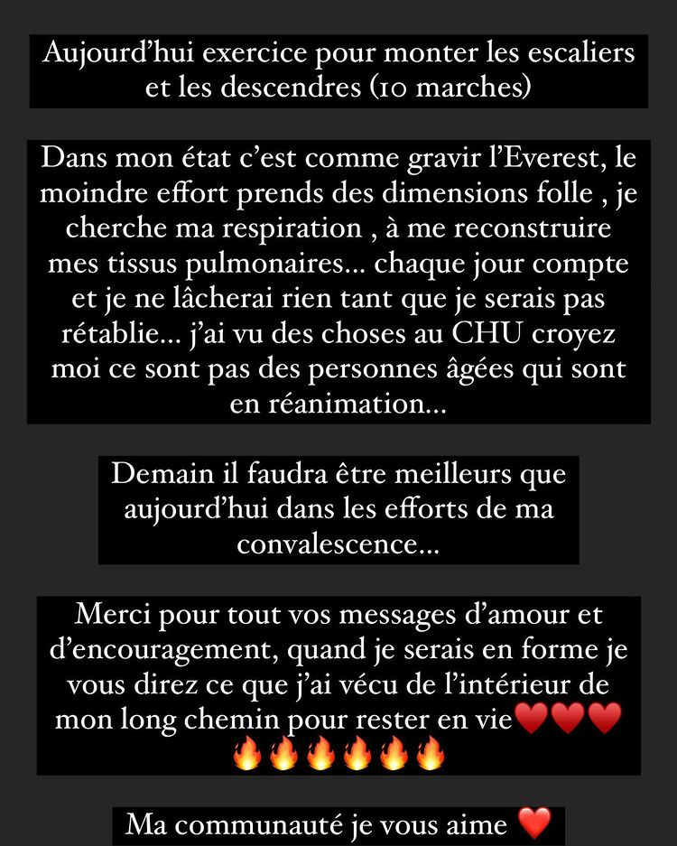message instagram de moundir