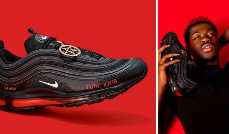 Des Nike «sataniques» avec du vrai sang font scandale aux Etats-Unis