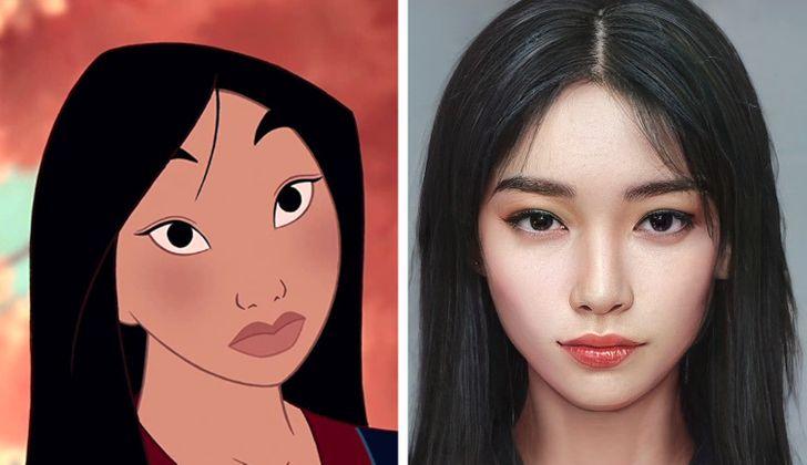 Personnage réaliste des dessins animés Dysney, fait par Darky Artist