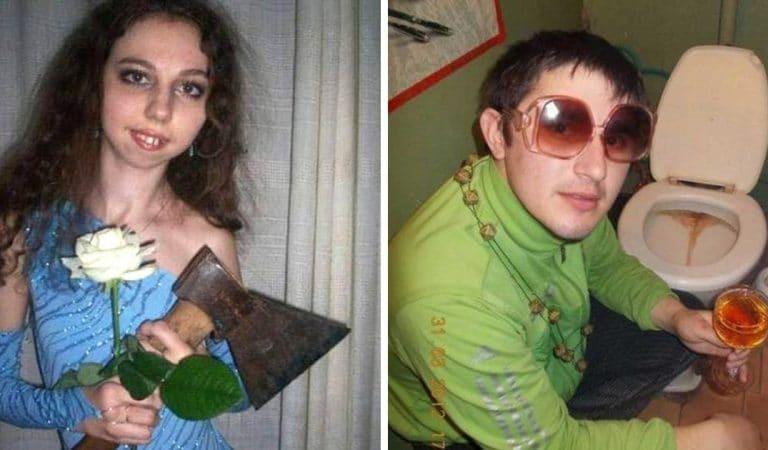 20 photos trouvées sur des sites de rencontre russes qui donnent envie de rester célibataire !