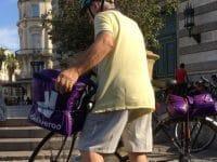 Pierre, livreur Deliveroo à Montpellier
