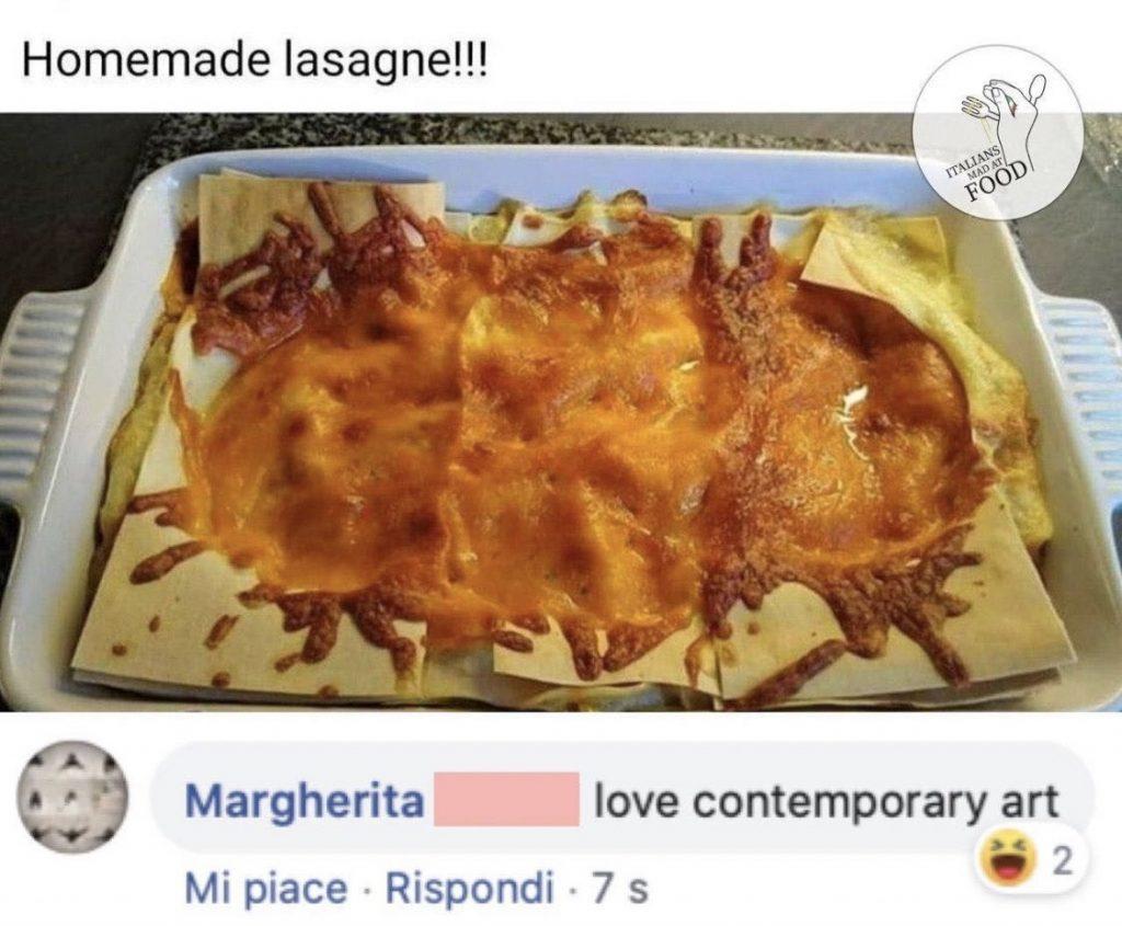 Plat italien raté