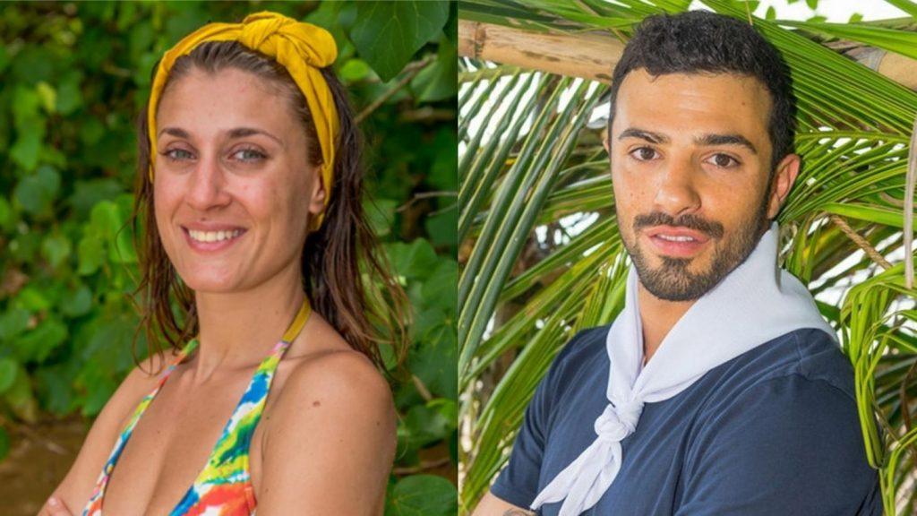 Laureen et Romain de Koh Lanta