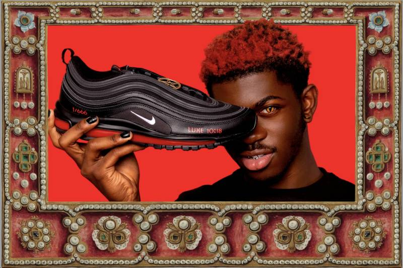 Les Satan Shoes de Lil Nas X