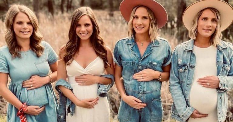 Les soeurs Gaines sont enceintes en même temps !