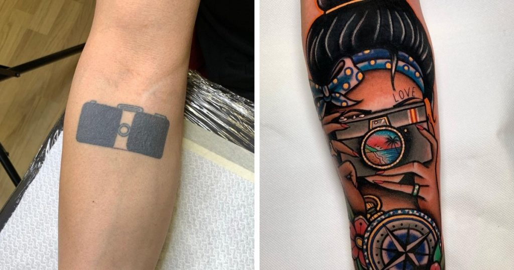 Transformation d'un tatouage raté