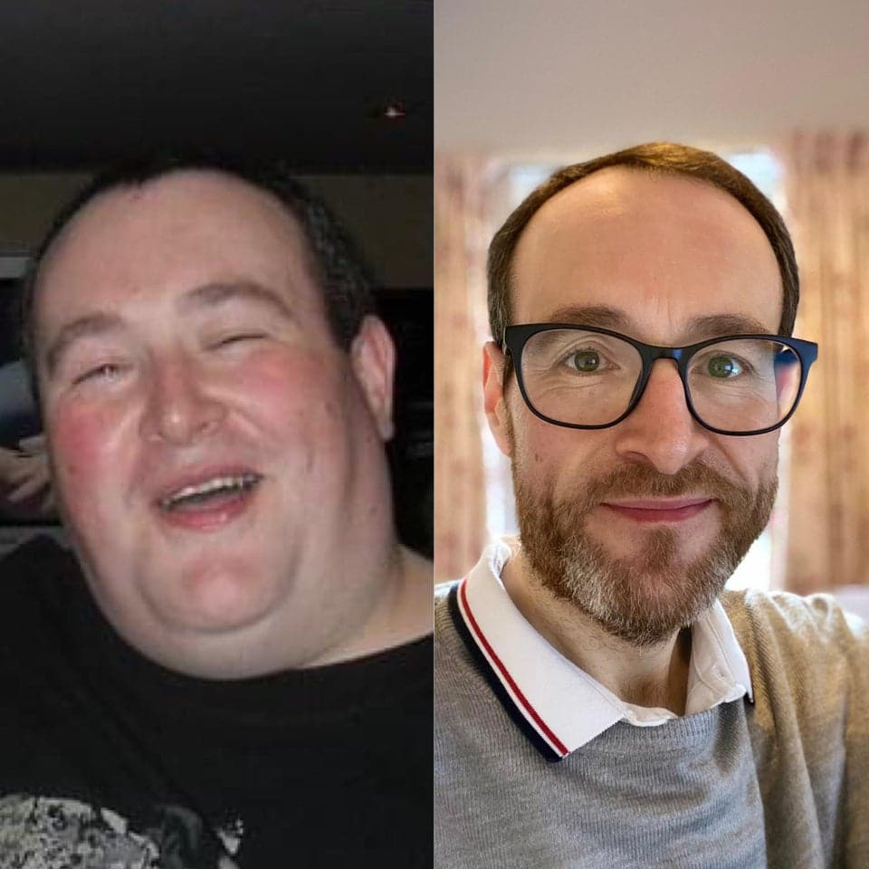 La transformation physique d'un internaute