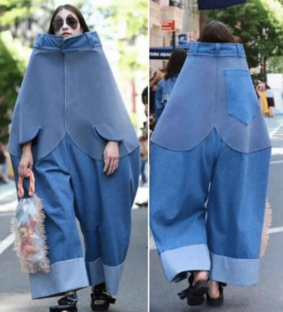 Une tenue ridicule