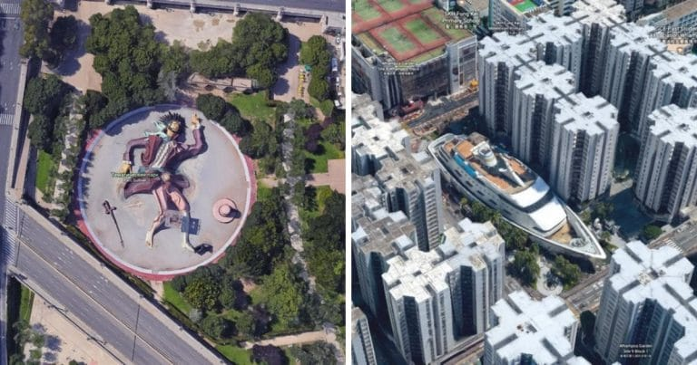 Des vues étonnantes sur Google Earth