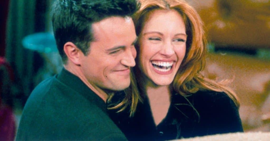 Matthew Perry et Julia Roberts dans l'épisode le plus regardé de la série Friends