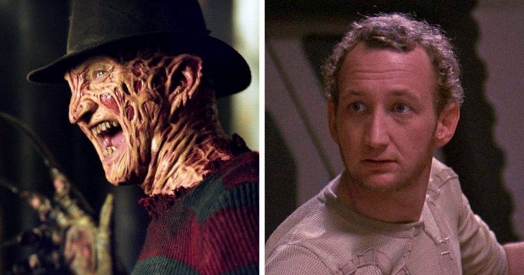 Robert Englund dans Nightmare on Elm Street et Deathtrap