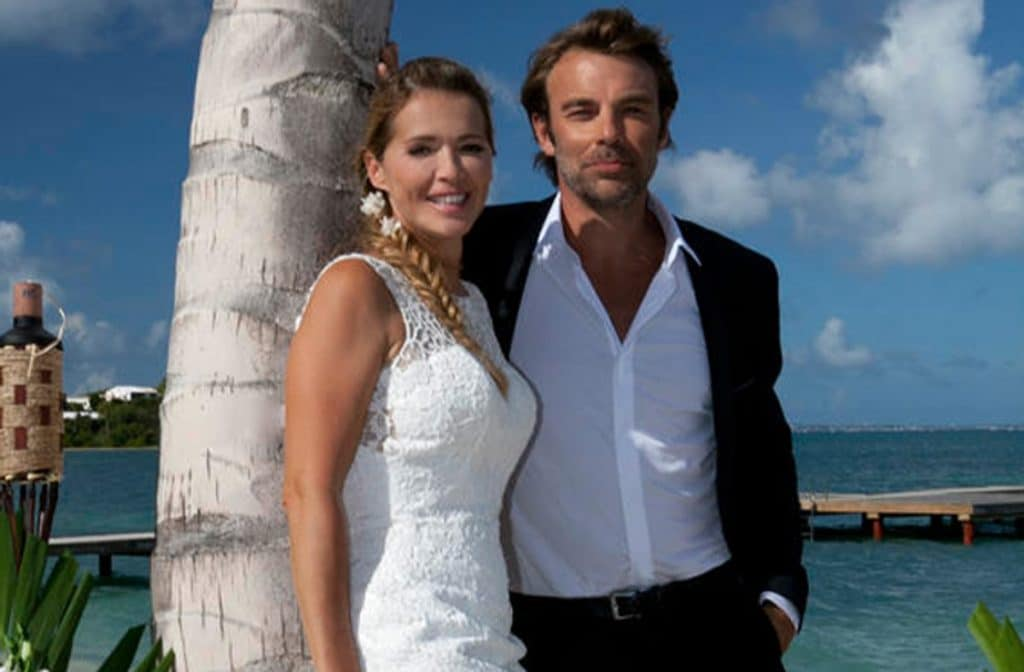 Hélène Rollès et Patrick Puydebat