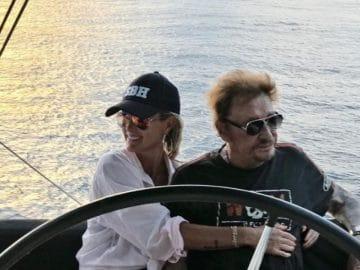 Laeticia et Johnny Hallyday