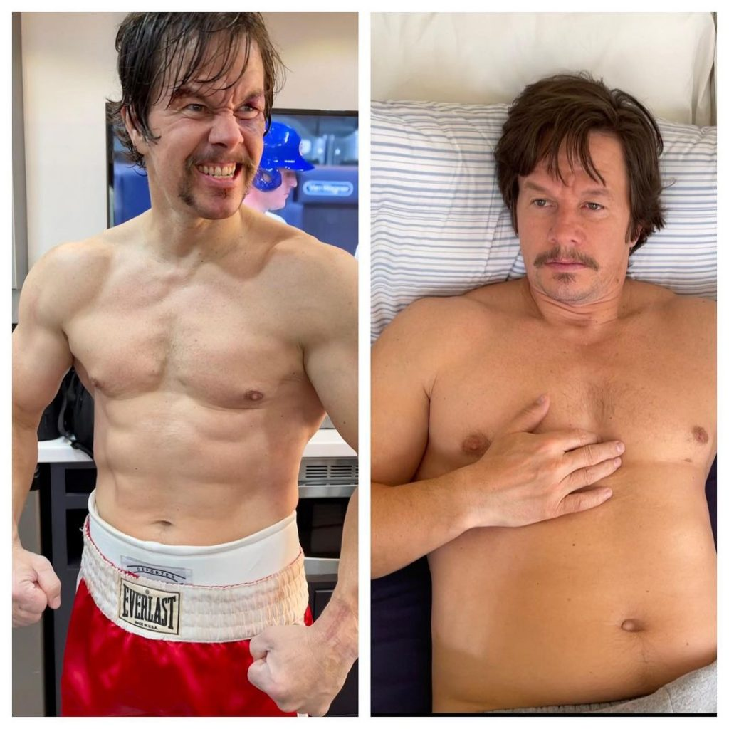 L'incroyable transformation physique de Mark Wahlberg