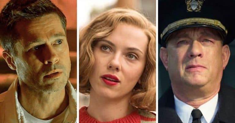 Brad Pitt, Scalett Johansson, Tom Hanks.