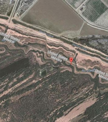 Dans le comté de Hudspeth, au Texas, la frontière avec le Mexique et les Etats-Unis