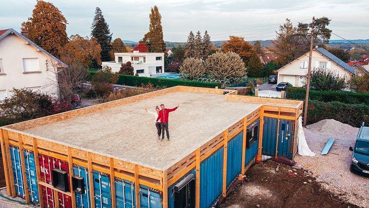Les étapes de la construction d'une maison conteneur