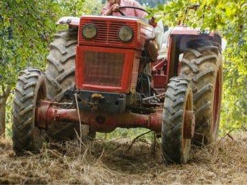 fermier tracteur