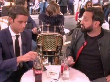 Gabriel Attal et Cyril Hanouna se déconfinent en terrasse