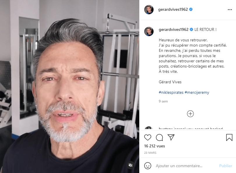 Gérard Vivès sport muscu