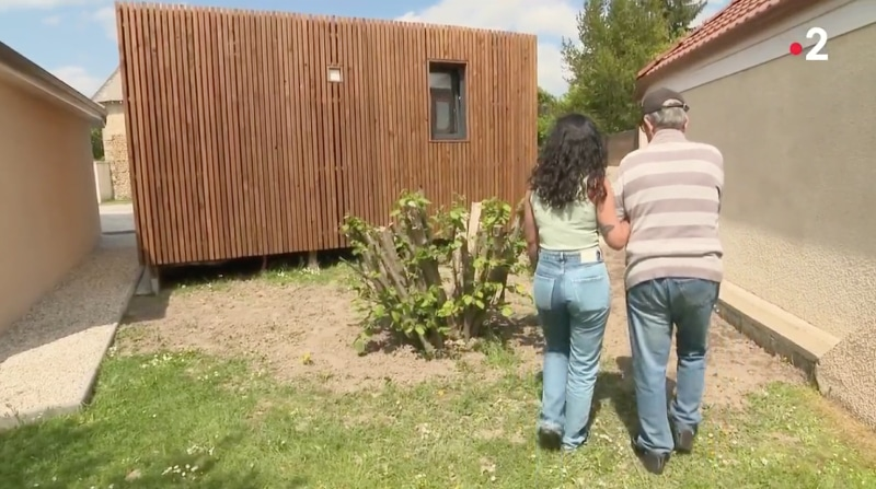 un studio de jardin pour personnes à mobilité réduite