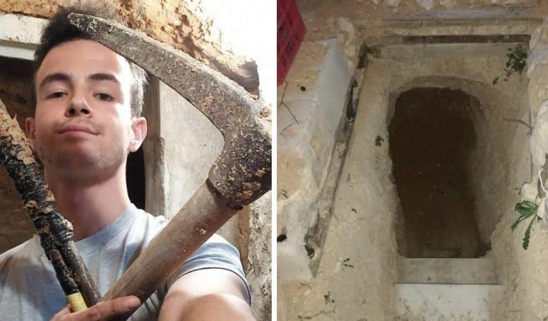 Un ado en colère contre ses parents passe 6 ans à creuser un «bunker» sous le jardin familial