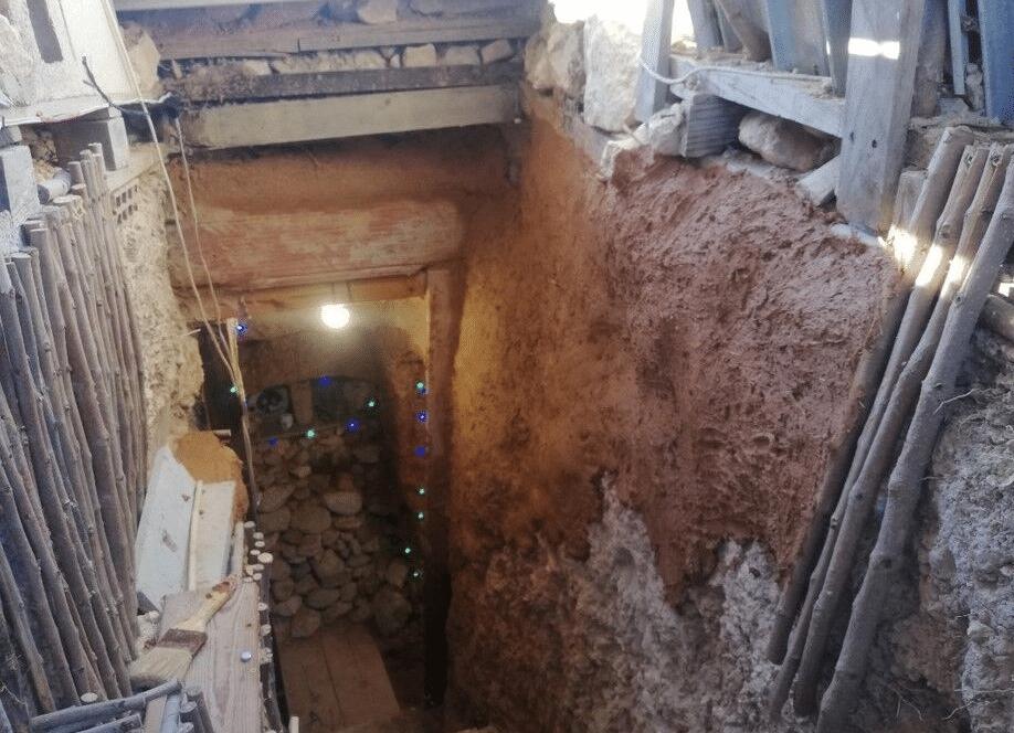 La grotte d'Andre Canto en Espagne