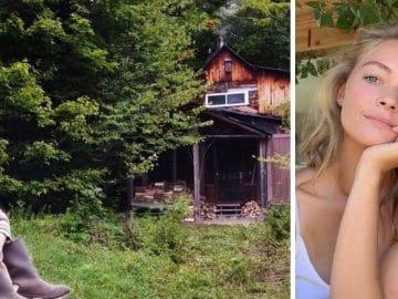 Hannah Lee Dugan vit dans deux cabanes