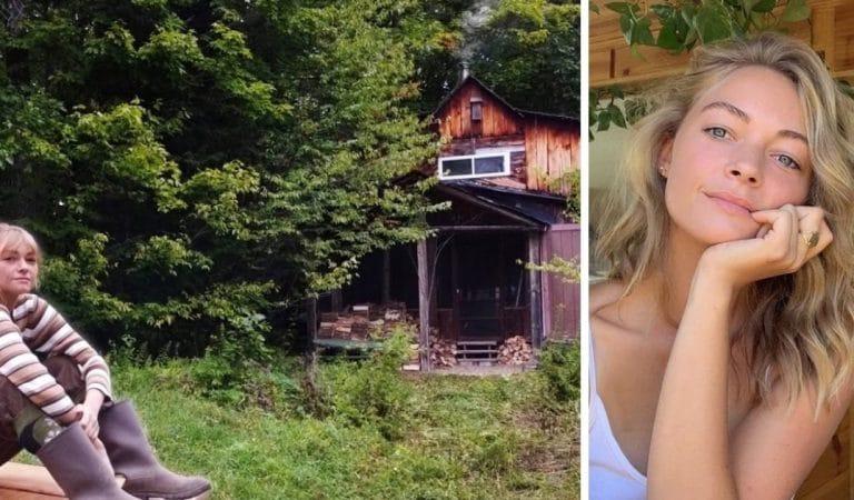 A 27 ans, Hannah plaque tout pour vivre au fond des bois : « il faut juste faire le premier pas ! »