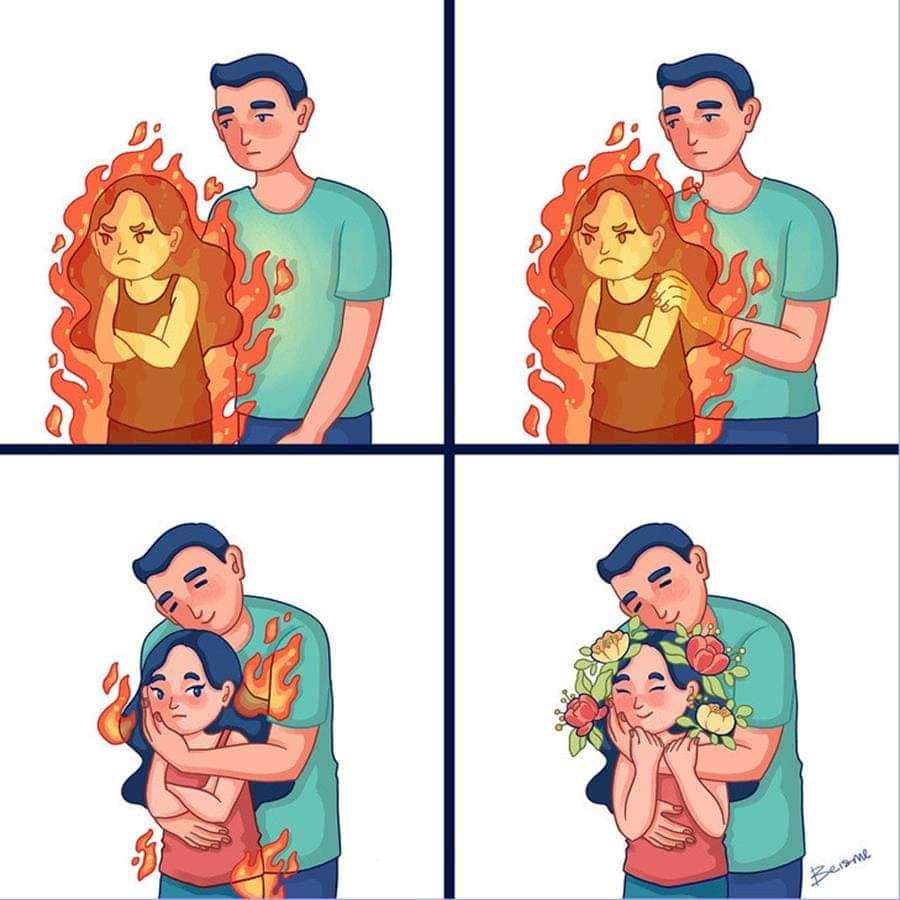Une bande dessinée sur la vie conjugale de Luong Thuy