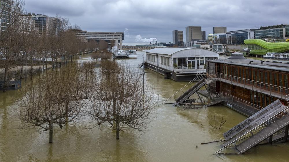 des inondations à paris
