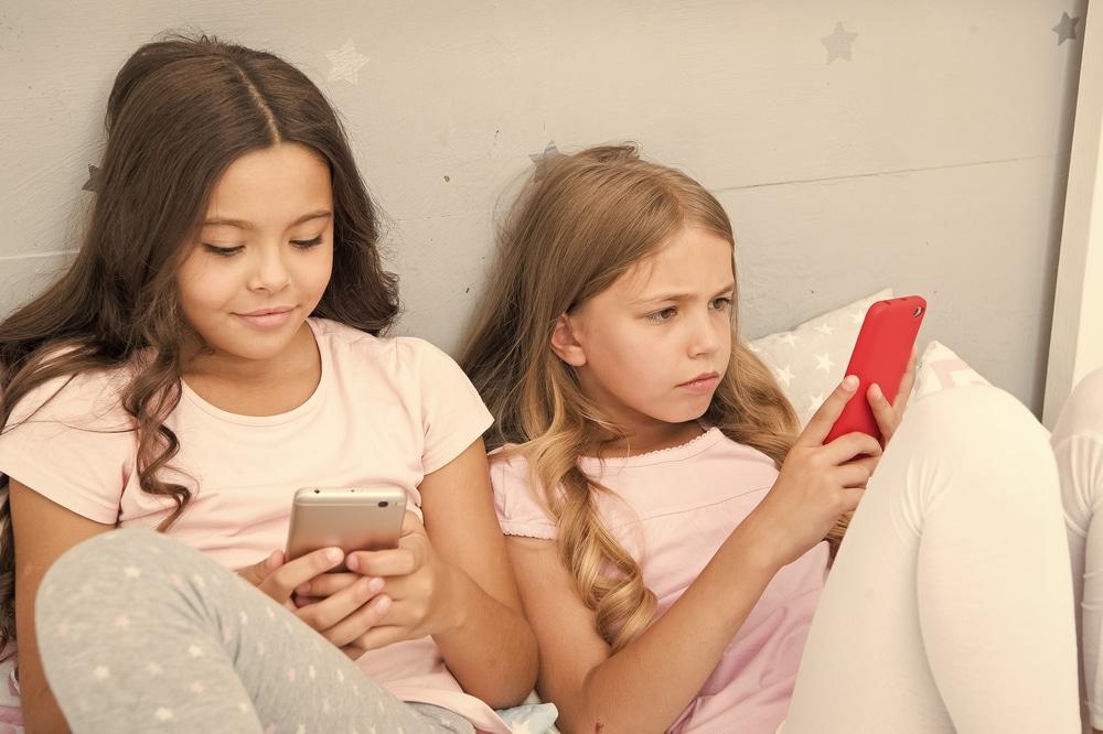 des jeunes utilisateurs sur instagram