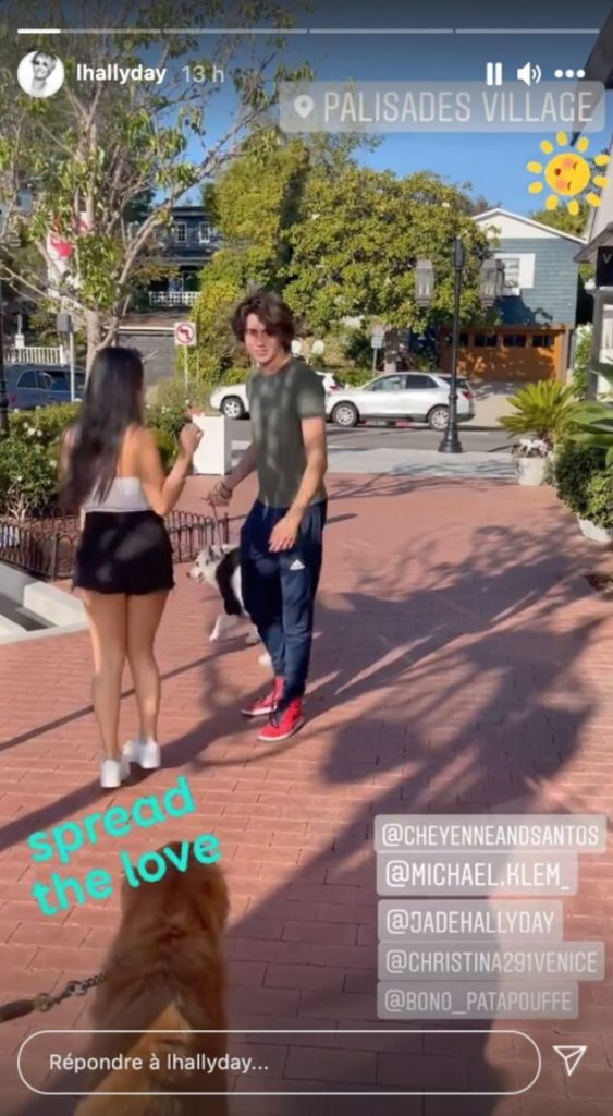 Jade Hallyday et Michael-Sean Klemeniuk