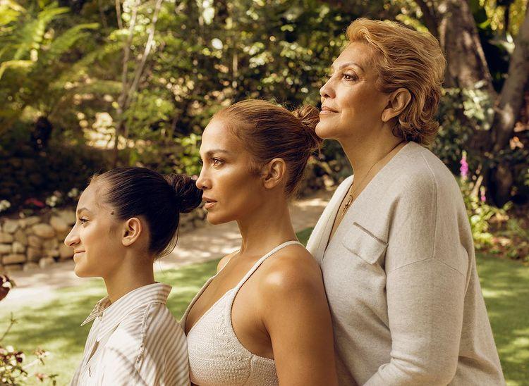 Jennifer Lopez, sa mère et sa fille