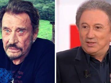 Johnny Hallyday et Michel Drucker