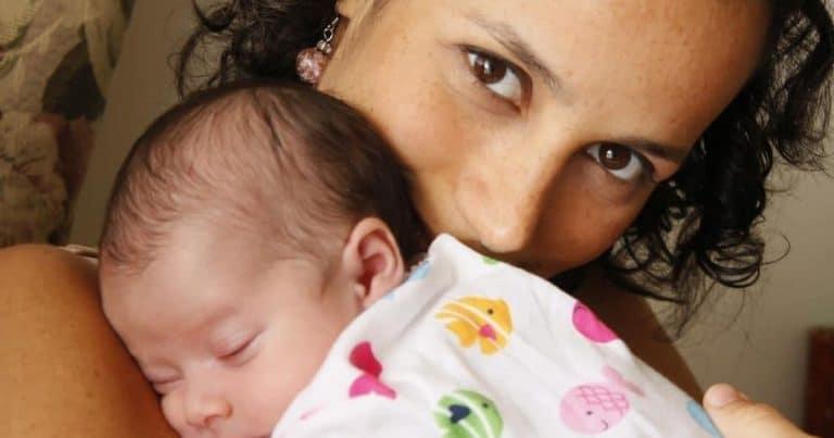 Karla Tenorio et son enfant