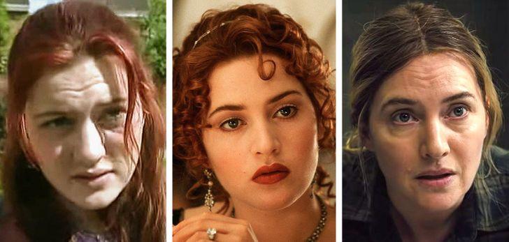 L'évolution physique de Kate Winslet