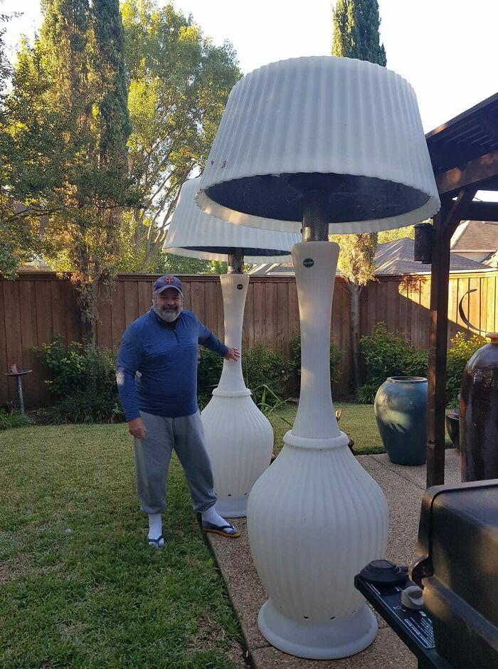 Un achat trompeur sur internet : des lampes trop grandes