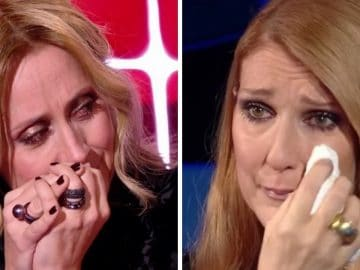 Lara Fabian et Céline Dion