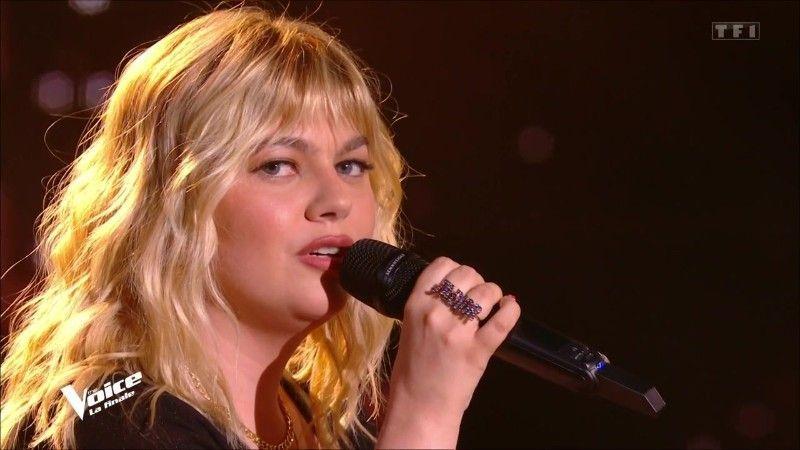 Louane dans la voix TF1