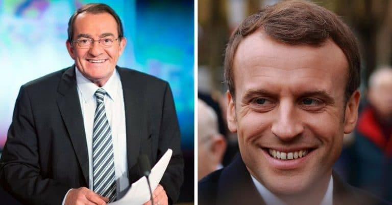 Jean pierre Pernaut et Macron