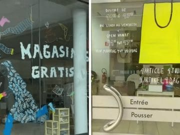 Le magasin gratuit au circularium de Bruxelles