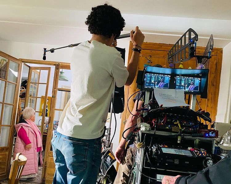 Mimie Mathy sur le tournage de Leo Mattei, la brigade des mineurs