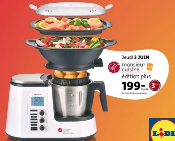 le robot Monsieur Cuisine Edition Plus de Silvercrest
