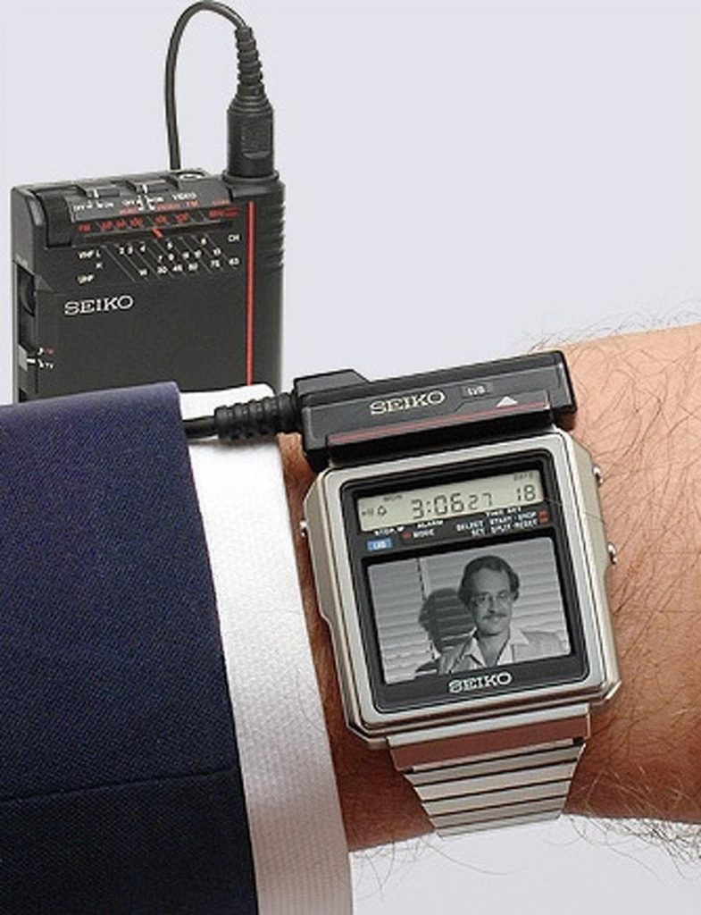 une photo fascinante d'une ancienne montre seiko