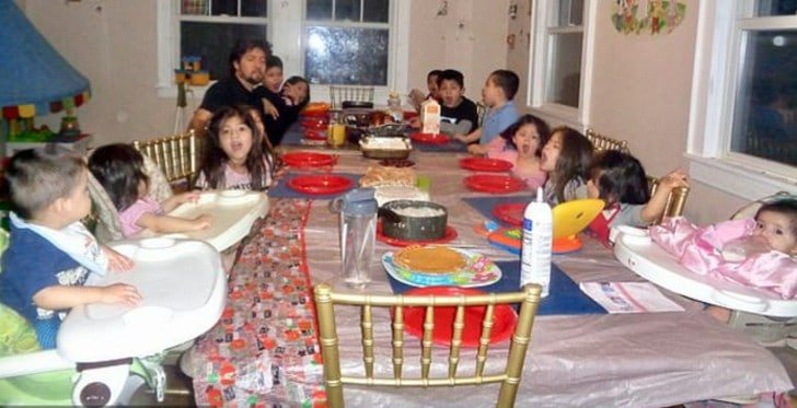 La famille nombreuse de Patty et Carlos Hernandez