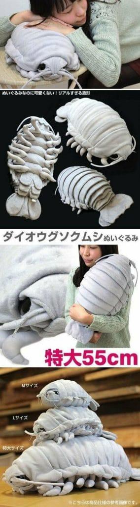 Une invention stupide : une peluche effrayante