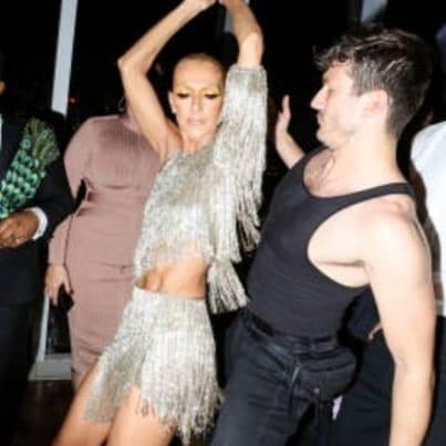 Pepe munoz danse avec céline dion